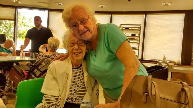 Mom and Teresa July 14 2015