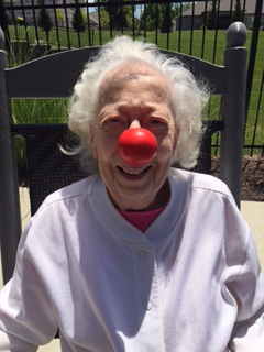 Mom Red Nose Day at The Arbors ...Mill Creek 2017