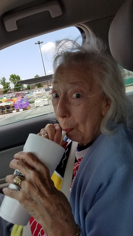 Mom rootbeer float July 2018