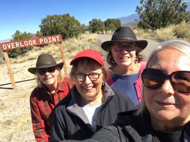 Selfie White Rock NM Susan Lynette Jenny Bonnie 102219