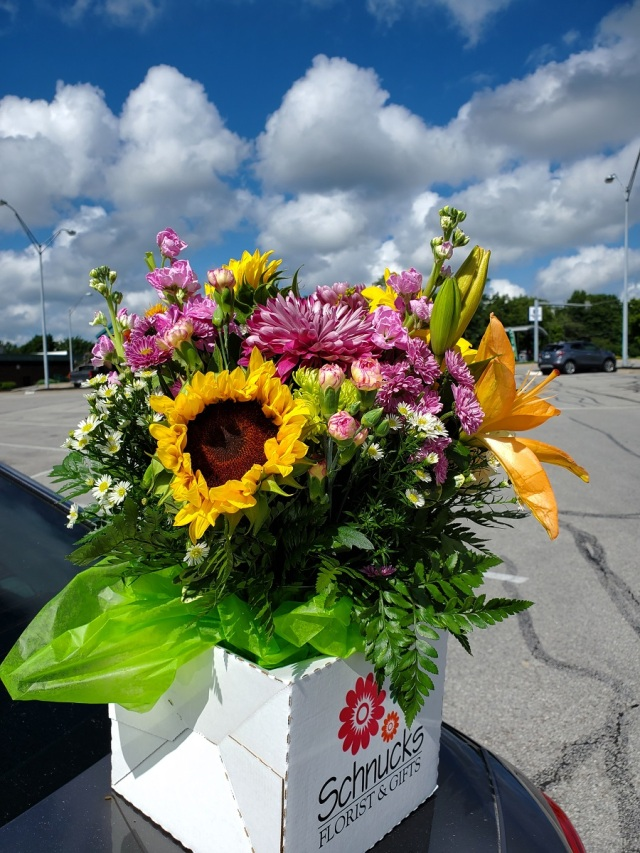 Mom flowers for 94 birthday 2020